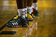 WACO, TX - DECEMBER 18: Players from both the Baylor Bears and the Northwestern State Demons wear Adidas shoes on December 18 at the Ferrell Center in Waco, Texas.  (Photo by Cooper Neill) *** Local Caption ***