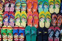 Laos, Province de Luang Prabang, ville de Luang Prabang, Patrimoine mondial de l'UNESCO depuis 1995, tong au marche // Laos, Province of Luang Prabang, city of Luang Prabang, World heritage of UNESCO since 1995, flip flop at the market