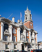 Town Hall built in 1898, Colchester, Essex, England
