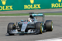44 HAMILTON lewis (gbr) mercedes gp mgp w06 action during 2015 Formula 1 FIA world championship, China Grand Prix, at Shanghai from April 9th to 12th. Photo Alexandre Guillaumot / DPPI
