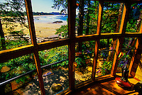Wickaninnish Inn, near Tofino, Vancouver Island, British Columbia, Canada
