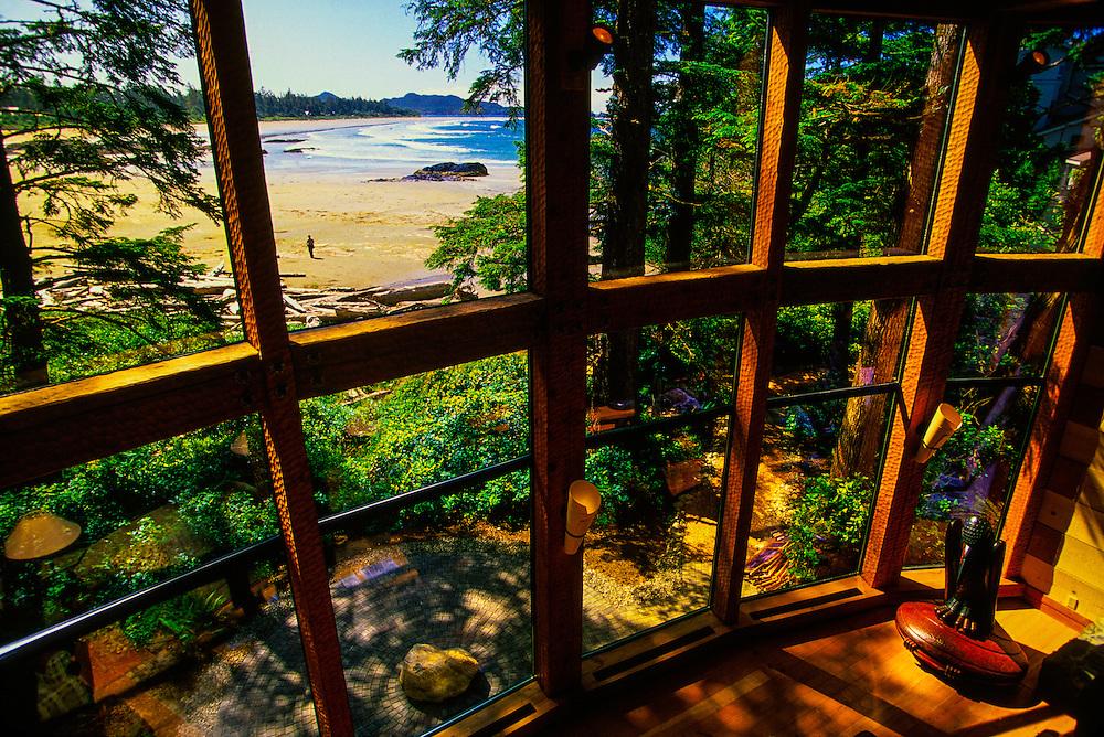 Wickaninnish Inn, near Tofino, Vancouver Island, British Columbia, Canada