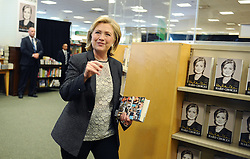 Hillary Rodham Clinton signs and discusses 'Hard Choices' at Barnes & Noble bookstore at The Grove in Los Angeles, CA, USA on June 19, 2014. Photo by Lionel Hahn/ABACAPRESS.COM