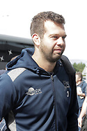 Sale Sharks Josh Beaumont arrives for the Gallagher Premiership Rugby match between Sale Sharks and Worcester Warriors at the AJ Bell Stadium, Eccles, United Kingdom on 9 September 2018.