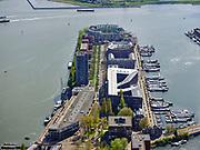 Nederland, Noord-Holland, Amsterdam, 07-05-2021; KNSM-eiland. Levantkade (rechts), KNSM-laan (midden), Surinamekade (links).<br /> KNSM island. Levantkade (right), KNSM-laan (middle), Surinamekade (left).<br /> <br /> luchtfoto (toeslag op standaard tarieven);<br /> aerial photo (additional fee required)<br /> copyright © 2021 foto/photo Siebe Swart.<br /> <br /> luchtfoto (toeslag op standaard tarieven);<br /> aerial photo (additional fee required)<br /> copyright © 2021 foto/photo Siebe Swart
