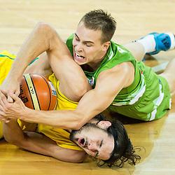 20150804: SLO, Basketball - Friendly match, Slovenia vs Australia