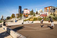 Basketball @ Yesler Terrace Park