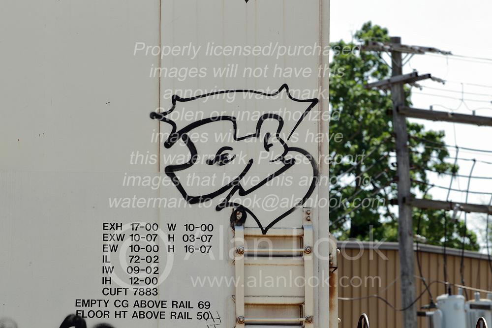 railroad graffiti art