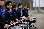 Shadow Indoor Percussion performs at the WSU Nutter Center in Dayton, Ohio on April 10, 2019.<br /> <br /> Beth Skogen Photography<br /> www.bethskogen.com
