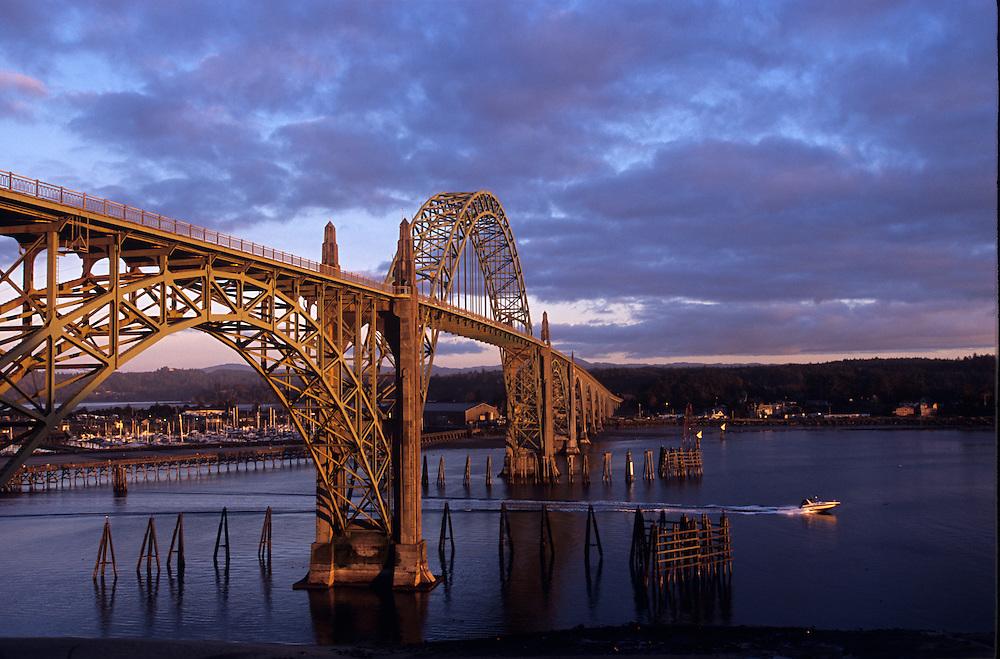 Yaquina Bridge, Newport Oregon