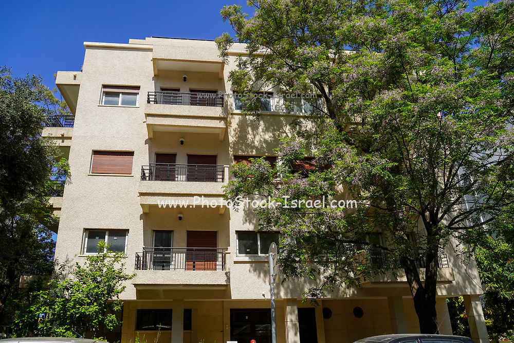 27 Rupin corner of 7 Hakerem was built in 1935 by Menashe Azouri Caruch and Ezra Yosef Khoury Bauhaus Architecture in Tel Aviv White City. The White City refers to a collection of over 4,000 buildings built in the Bauhaus or International Style in Tel Aviv from the 1930s by German Jewish architects who emigrated to the British Mandate of Palestine after the rise of the Nazis. Tel Aviv has the largest number of buildings in the Bauhaus/International Style of any city in the world. Preservation, documentation, and exhibitions have brought attention to Tel Aviv's collection of 1930s architecture.