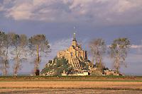 France, Normandie, Manche (50), Mont Saint Michel // Mont Saint Michel, Manche department, Normandy, France