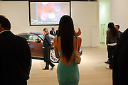 YUKO SUZUKI, Launch of all new Jaguar XJ - Thursday 9th July, Saatchi Gallery. London. 9 July 2009.