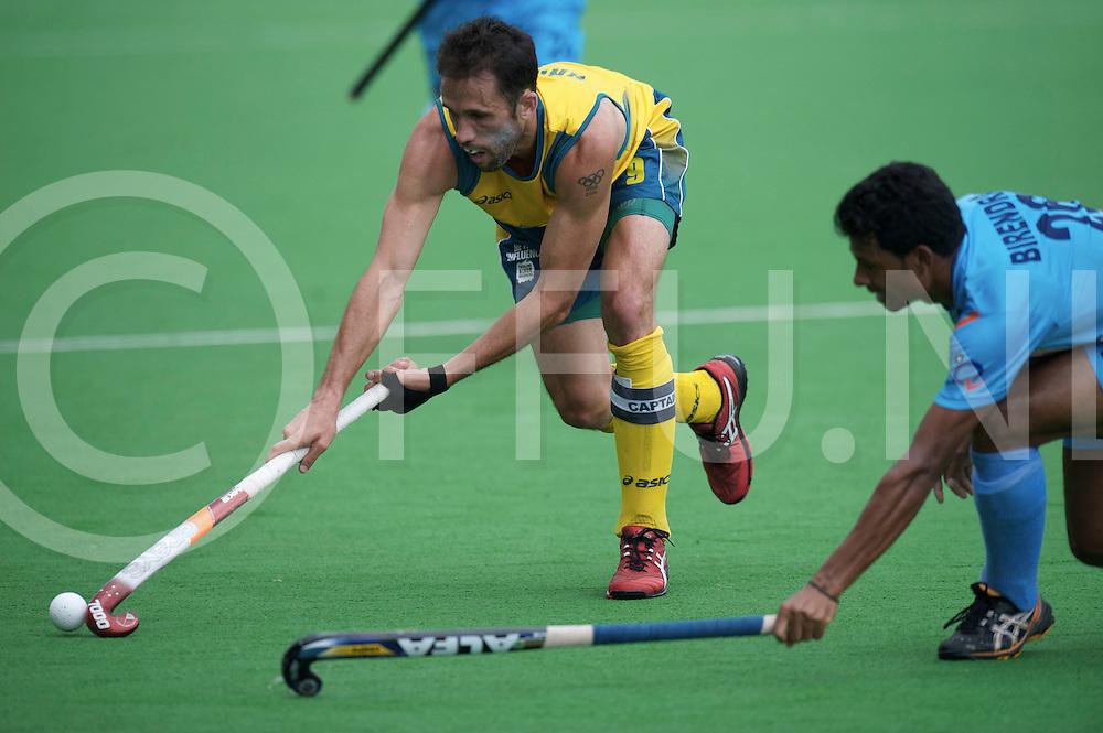 MELBOURNE - Champions Trophy men 2012<br /> India v Austalia <br /> foto: Mark Knowles,<br /> FFU PRESS AGENCY COPYRIGHT FRANK UIJLENBROEK