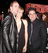 Nicolas Cage ,Tea Leoni & Brett Ratner.Family Man Movie Premiere Party.The Palladium, Los Angeles.Tuesday, December 13, 2000.Photo By CelebrityVibe.com..
