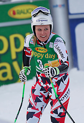 06.12.2015, East Summit Course, Lake Luise, CAN, FIS Weltcup Ski Alpin, Lake Luise, Damen, SuperG, im Bild Tamara Tippler (AUT, 2. Platz) // 2nd placed Tamara Tippler of Austria during the race of ladies Super G of the Lake Luise FIS Ski Alpine World Cup at the East Summit Course in Lake Luise, Canada on 2015/12/06. EXPA Pictures © 2015, PhotoCredit: EXPA/ SM<br /> <br /> *****ATTENTION - OUT of GER*****