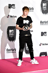 November 4, 2018 - Bilbao, Bizkaia, Spanien - Mike Singer bei der Verleihung der MTV European Music Awards 2018 in der Bizkaia Arena. Bilbao, 04.11.2018 (Credit Image: © Future-Image via ZUMA Press)