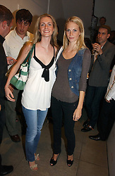 Left to right, sisters CHLOE DELEVINGNE and POPPY DELEVINGNE at the Peta (People for the Ethical Treatment of Animals) Humanitarian Awards held at Stella McCartney, 30 Bruton Street, London W1 on 28th June 2006.<br />
