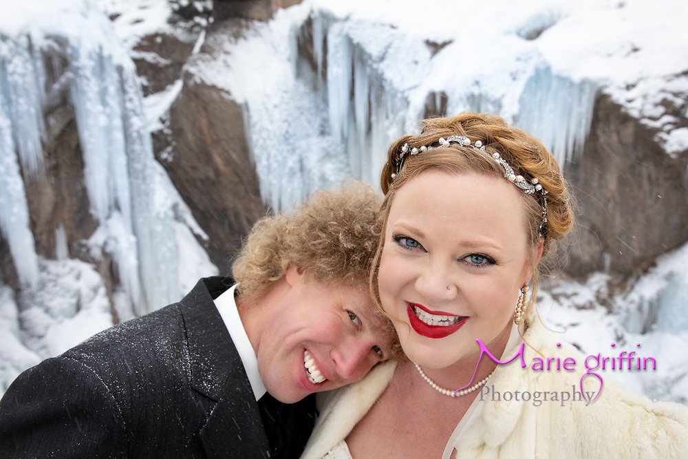 #nelliottnye2018  Ian Nelson and Maggie Elliott wedding weekend in Ouray, Coloado (small mountain town population 800) on December 31, 2018. Ceremony and reception at the Beaumont Hotel and Spa Ouray, Colorado.<br />Photography By: Marie Griffin Dennis/Marie Griffin Photography