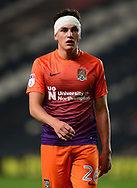 Regan Poole of Northampton Town wearing a head bandage .EFL Skybet football league one match, MK Dons v Northampton Town at the Stadium MK in Milton Keynes on Tuesday 26th September 2017.<br /> pic by Bradley Collyer, Andrew Orchard sports photography.