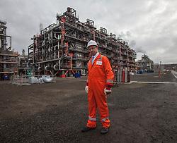 Calum MacLean, Chairman INEOS O&P at the INEOS Grangemouth plant as part of an INEOS Media Trip.