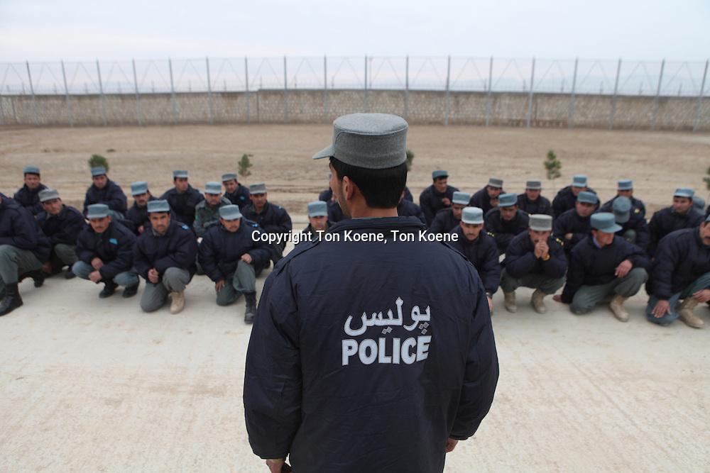 Police training centre in Kunduz by German army