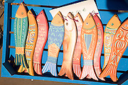 Painted wooden fish for sale