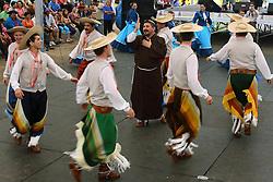 Apresentação artistica de danças tradicionais no 12 Rodeio Internacional do Mercosul. FOTO: Jefferson Bernardes/Preview.com