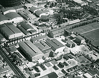 1931 Aerial of Educational Studios on Santa Monica Blvd.