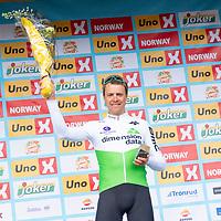 Edvald Boasson Hagen vant i Kristiansand under Tour of Norway sykkelritt etappe 2: Lyngdal - Kristiansand.