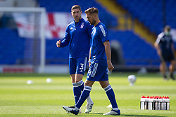 Luke Chambers of Ipswich Town & Stephen Ward of Ipswich Town - Mandatory by-line: Phil Chaplin/JMP - 13/09/2020 - FOOTBALL - Portman Road - Ipswich, England - Ipswich Town v Wigan Athletic - Sky Bet League One