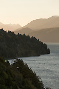 Overview of lake, Neuqu?n Region, Patagonia, Argentina, South America