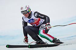 20.12.2013, Saslong, Groeden, ITA, FIS Ski Weltcup, Groeden, Abfahrt, Herren, SuperG, im Bild Siegmar Klotz (ITA) // Siegmar Klotz of Italy in action during mens Super-G of the Groeden FIS Ski Alpine World Cup at the Saslong Course in Gardena, Italy on 2012/12/20. EXPA Pictures © 2013, PhotoCredit: EXPA/ Johann Groder