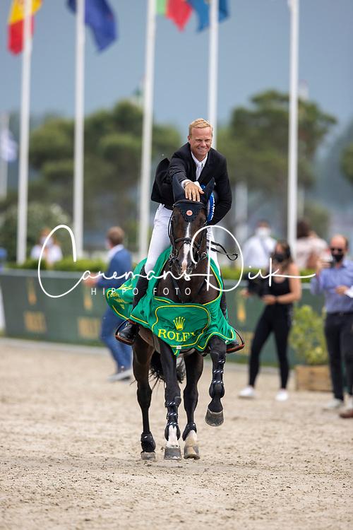 Guery Jerome, BEL, Quel Homme de Hus<br /> Knokke Hippique 2021<br /> © Dirk Caremans<br />  27/06/2021