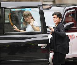 © Licensed to London News Pictures. 06/09/2019. London, UK. Labour Peer SHAMI CHAKRABARTI is seen leaving The Royal Courts of Justice after a ruling on a judicial review of Boris Johnson's planned suspension of Parliament. The case has been brought by remain campaigner Gina Miller, with support from former British Prime Minister John Major. Photo credit: Ben Cawthra/LNP