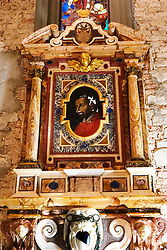 Florence, Restoration of Chapel Capponi in Santa Felicita with paintings of Pontormo thanks to the Donation of Friends of Florence 30/05/2017 Florence Italy