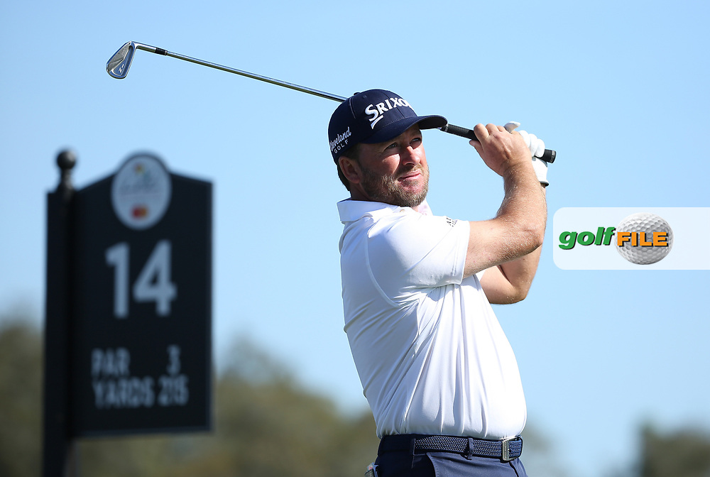 Graeme McDowell (NIR) on the 14th tee during the 3rd round of the Arnold Palmer Invitational presented by Mastercard, Bay Hill, Orlando, Florida, USA. 07/03/2020.<br /> Picture: Golffile | Scott Halleran<br /> <br /> <br /> All photo usage must carry mandatory copyright credit (© Golffile | Scott Halleran)