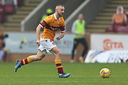 Allan Campbell (Motherwell) during the Scottish Premiership match between Motherwell and Celtic at Fir Park, Motherwell, Scotland on 8 November 2020.