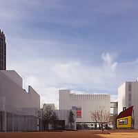 Arch. Renzo Piano & Richard Meier, High Museum , Atlanta, Georgia, USA