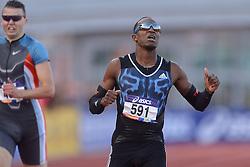 31-07-2015 NED: Asics NK Atletiek, Amsterdam<br /> Nk outdoor atletiek in het Olympische stadion Amsterdam /  Liemarvin Bonevacia wint de 400 meter, Bjorn Blauwhof  #480