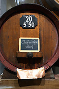 sign on tank chateauneuf 2004 domaine p usseglio chateauneuf du pape rhone france