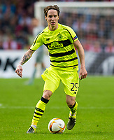 17/09/15 UEFA EUROPA LEAGUE GROUP STAGE<br /> AJAX v CELTIC<br /> AMSTERDAM ARENA - HOLLAND<br /> Stefan Johansen in action for Celtic