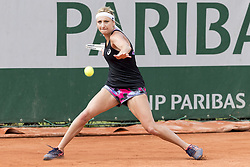 May 27, 2017 - Paris, Frankreich - Paris, 27.05.2017, Tennis - French Open 2017, Timea Bacsinszky (SUI) waehrend des Training  (Credit Image: © Pascal Muller/EQ Images via ZUMA Press)