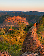 The Balconies at Dawn, Pinnacles National Park, California