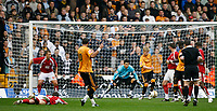 Photo: Steve Bond/Sportsbeat Images.<br /> Wolverhampton Wanderers v Bristol City. Coca Cola Championship. 03/11/2007. Jay Bothroyd (10) scores for Wolves