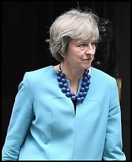 London: Aung San Suu Kyi visits Theresa May, 13 September 2016