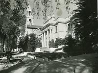 1944 Blessed Sacrament Church on Sunset Blvd.