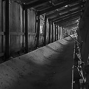 Conveying No Impression<br /> <br /> Dusty Conveyor<br /> Stick Shed<br /> Murtoa