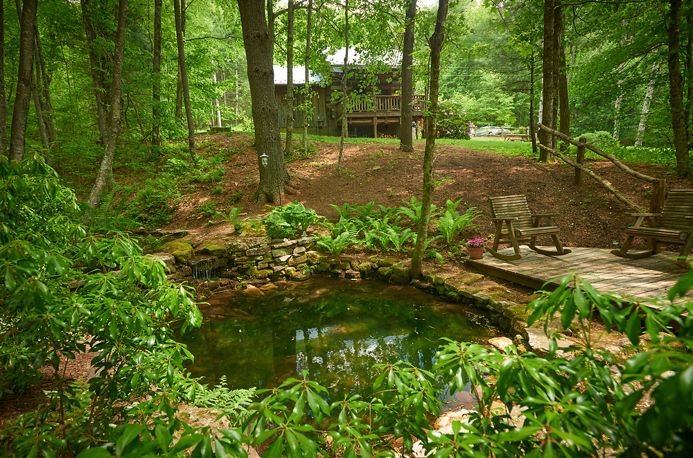Little Creek Cabin Antique Log Cabin Vacation Rental near Boone, NC