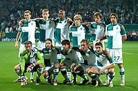 Fotball<br /> Foto: ProShots/Digitalsport<br /> NORWAY ONLY<br /> <br /> werder bremen - fc barcelona 27-09-2006 UEFA Champions League seizoen 2006-2007 teamfoto werder bremen